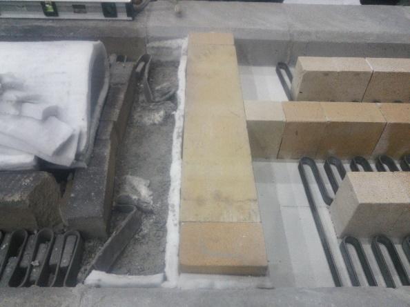 台車炉の炉体延長改造1