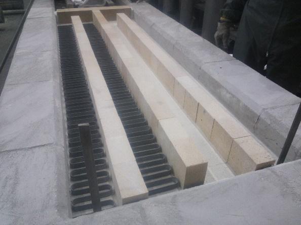 台車炉の炉体延長改造2