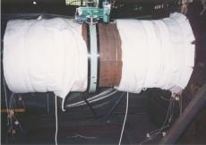 配管溶接の予熱・焼鈍施工:L-PWHT