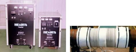 高周波誘導予熱・焼鈍装置1
