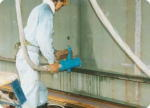 標準タイプV型による点焼作業